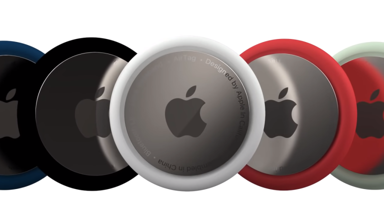 Apple AirTags render