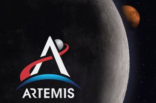 NASA's new Artemis program logo was revealed on the eve of the 50th anniversary of the Apollo 11 first moon landing.