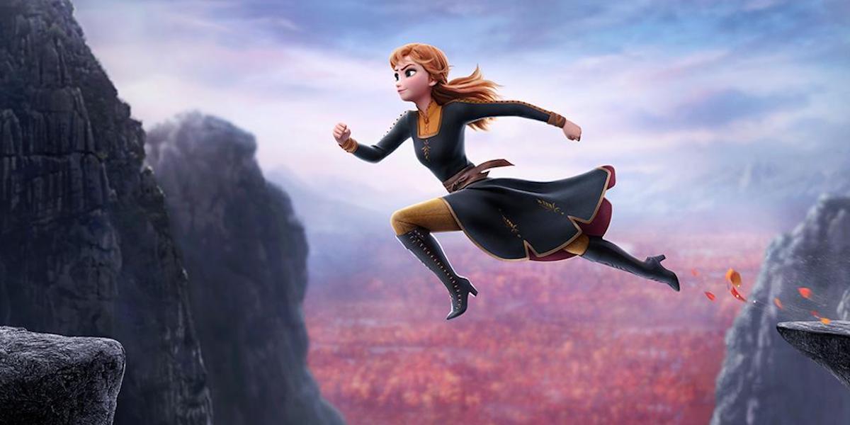 Kristen Bell as Anna in Frozen II