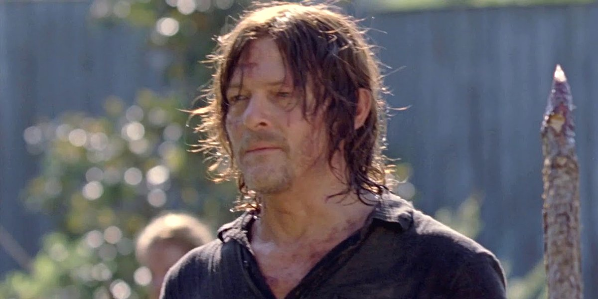 Norman Reedus Improvised A Walking Dead Scene That Made His Young Co-Star Cry