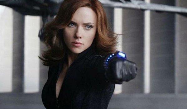 Scarlett Johansson as Black Widow in The Avengers: Endgame