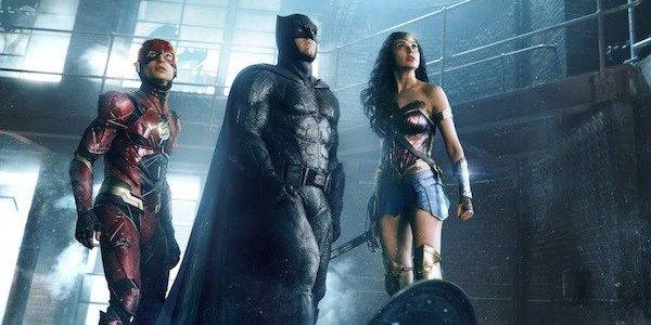 The Flash, Batman, and Wonder Woman