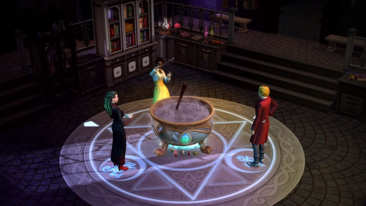 You can become a wizard in The Sims 4's next game pack ...
