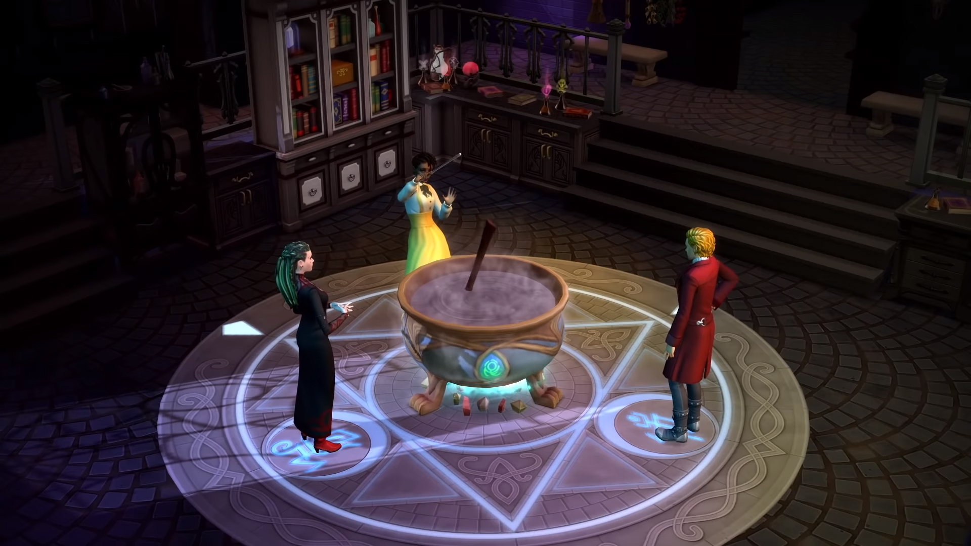 You can become a wizard in The Sims 4's next game pack
