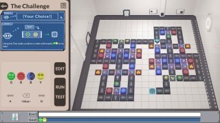 Robot-making factory puzzle game Manufactoria 2022.
