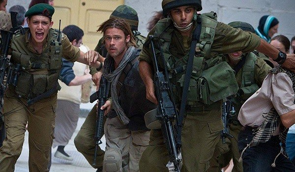 Brad Pitt is a reluctant soldier in a war branded 'Z'