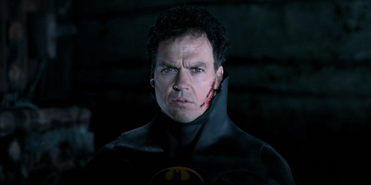 Michael Keaton as Bruce Wayne in Batman Returns