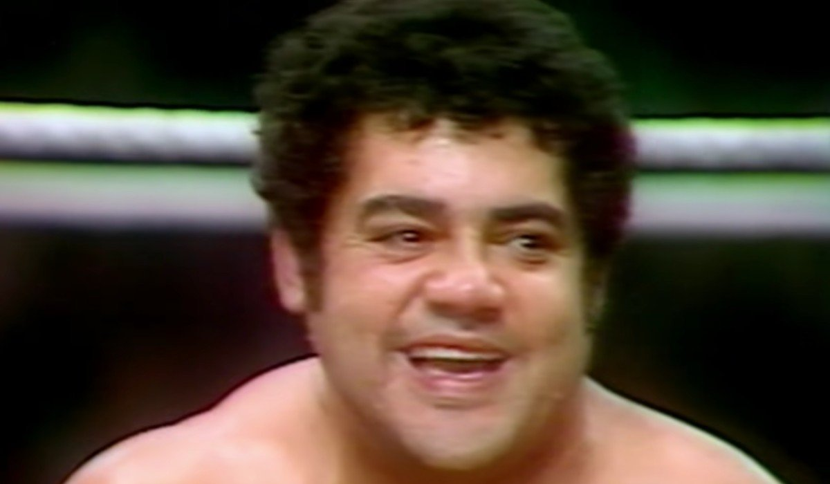 Pedro Morales smiling in the ring WWE