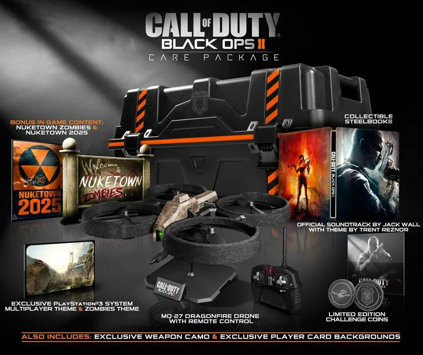 Black ops ii hardened and care package editions offer compelling.