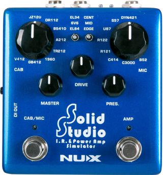 Nux Introduces New SS-5 Solid Studio IR & Power Amp