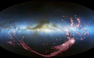 All Sky View of Magellanic Stream