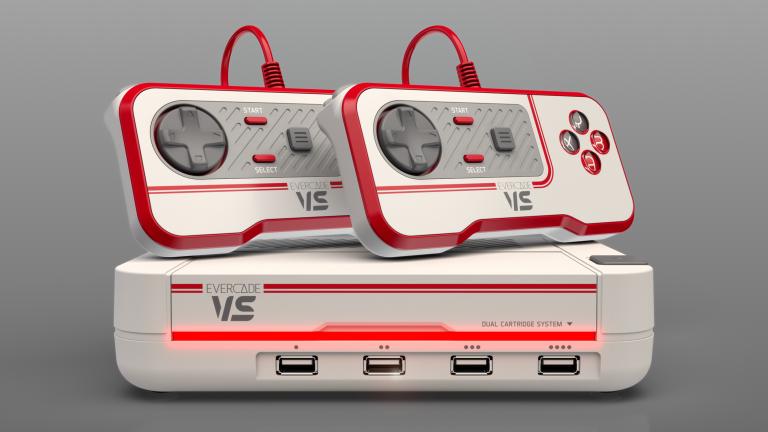 Nintendo Switch OLED Evercade VS