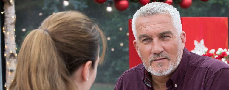 Paul Hollywood on the Great Celebrity Bake Off