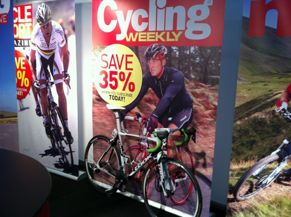 IPC stand, Cycle Show 2010, weds