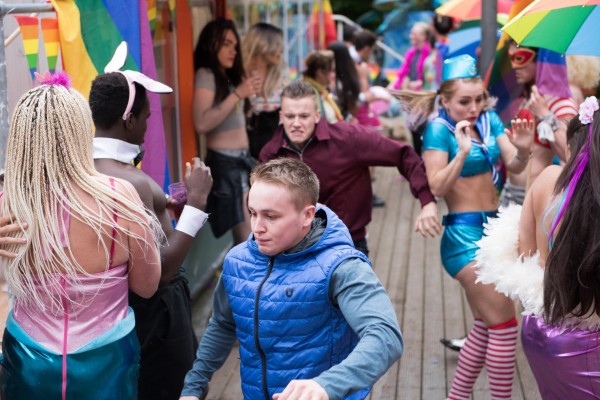 Drama at Hollyoaks Pride