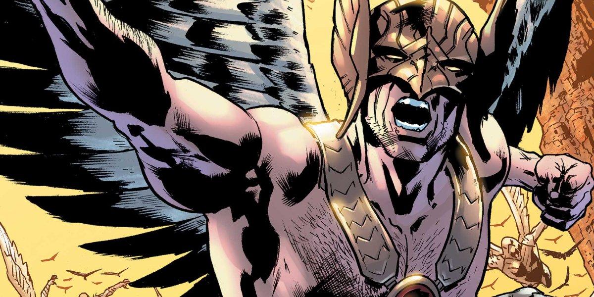 Hawkman flying