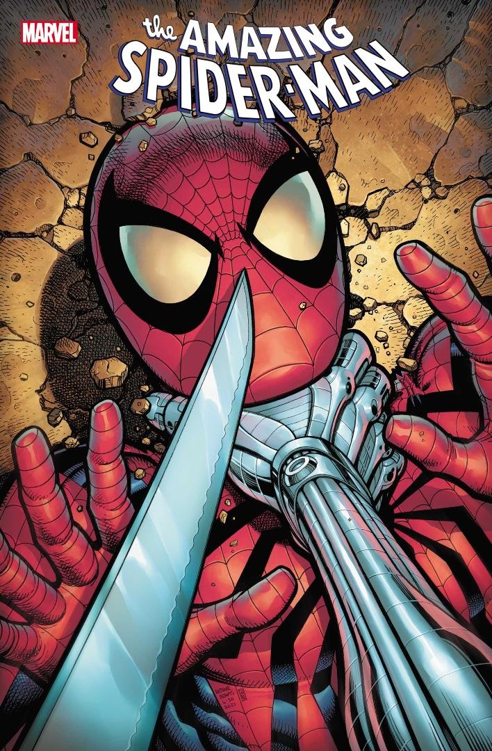 Portada de Amazing Spider-Man # 77