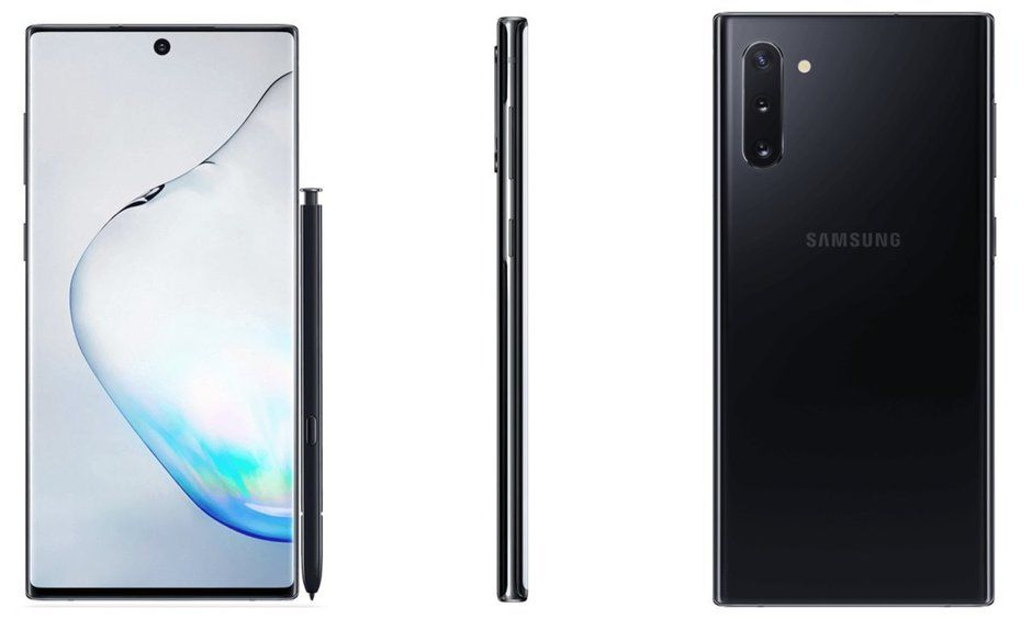 New Renders Reveal Galaxy Note 10 and Note 10+
