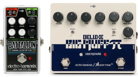 Electro-Harmonix Sovtek Deluxe Big Muff Pi and Nano Battalion Bass Preamp review