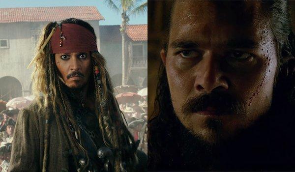 Jack Sparrow and Long John Silver