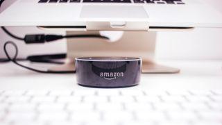 Photo of Amazon echo dot with Alexa by Piotr Cichosz on Unsplash