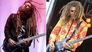 [L-R] Brian 'Head' Welch and JR Bareis of Love and Death