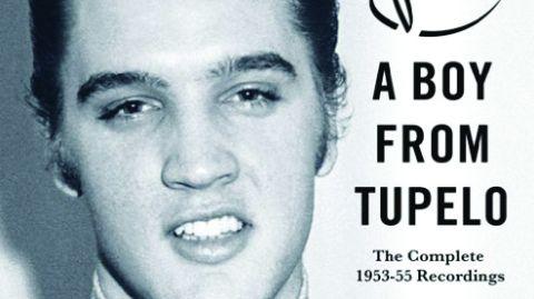 Cover art for Elvis Presley - A Boy From Tupelo album