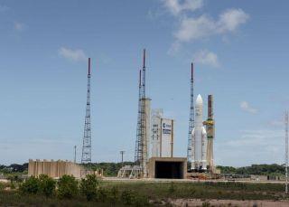 Ariane 5 Rocket on ELA-3 Launch Pad