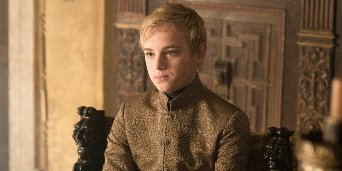 Game of Thrones Tommen Baratheon Dean-Charles Chapman HBO