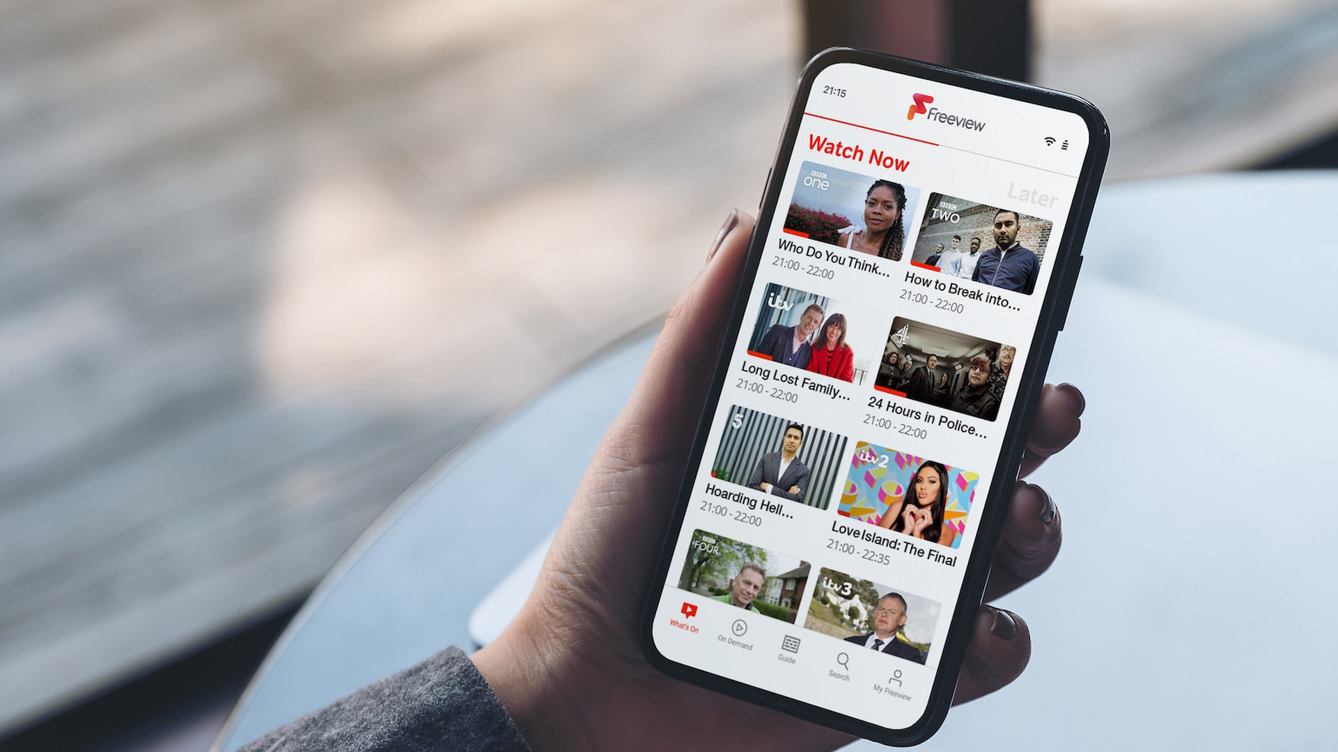 Freeview's mobile app is now available for Android