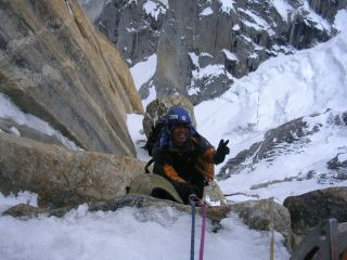 Young Hoon Oh began mountaineering while an undergraduate at Seoul National University.