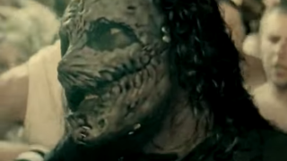 This is the Duality video by Slipknot