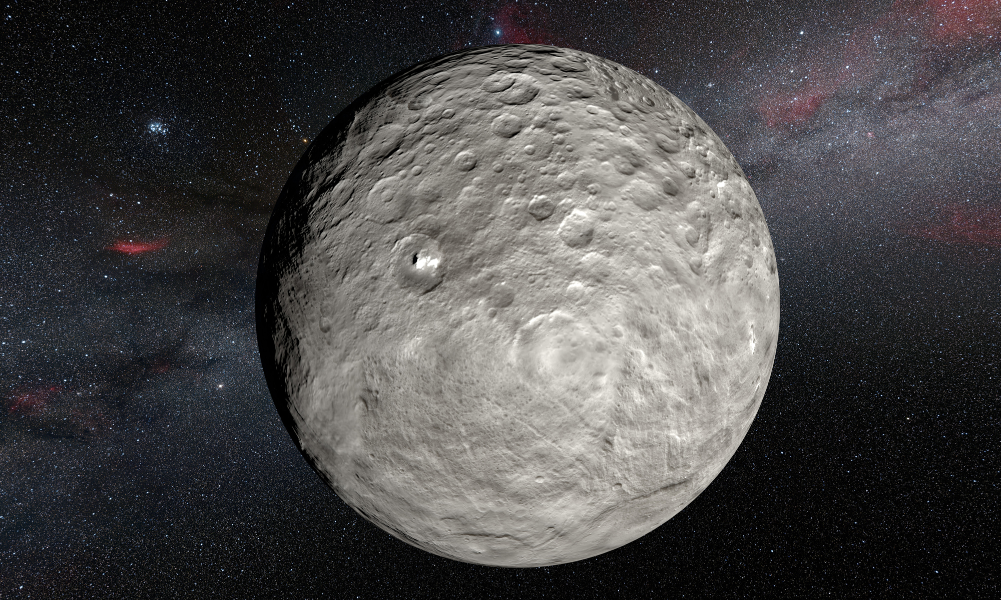 Ceres: The Smallest and Closest Dwarf Planet   Space