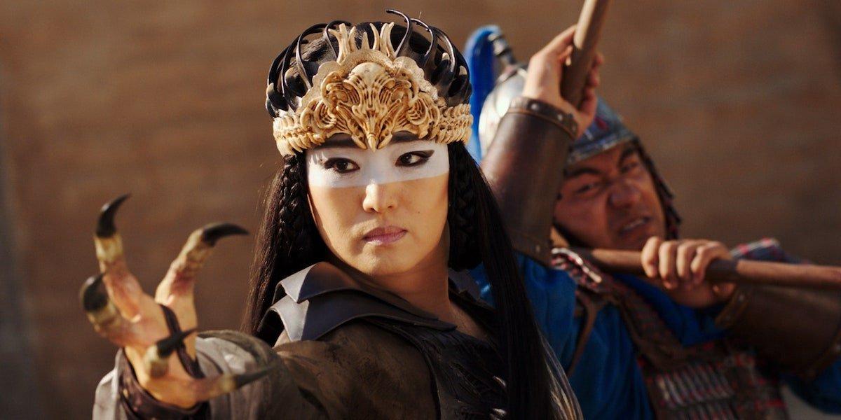 Gong Li as Xianniang in Mulan remake 2020