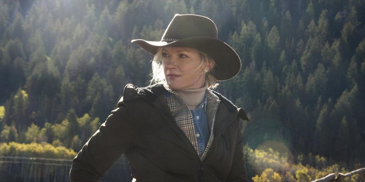 Gretchen Mol on Yellowstone