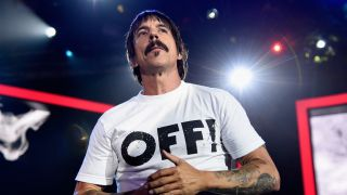 Red Hot Chili Peppers frontman Anthony Kiedis