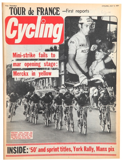 Cycling magazine cover 1971