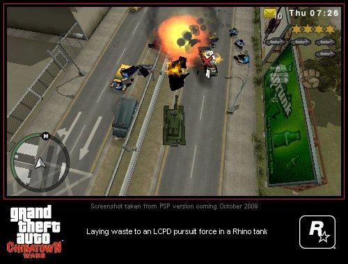 Grand Theft Auto: Chinatown Wars PSP Screenshots #9004
