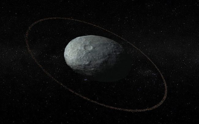 Haumea Has RIngs