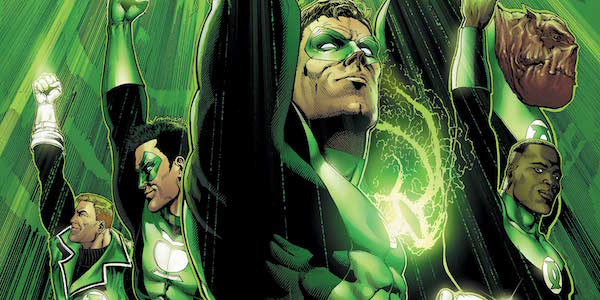 Green Lantern Corps members from DC Comics
