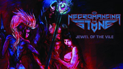 Necromancing The Stone, 'Jewel Of The Vile' album cover
