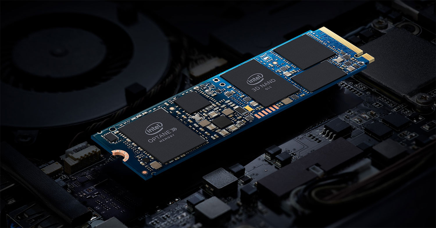 Intel is now injecting Optane memory directly on SSDs for