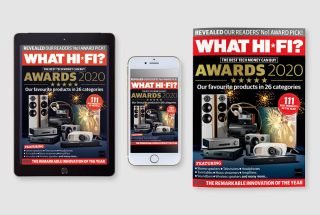 What Hi-Fi? Awards 2020 issue