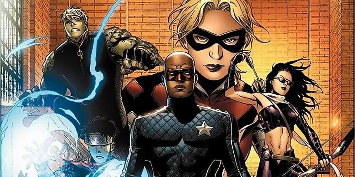 The Young Avengers assemble (Marvel Comics)