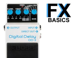 Delay pedals have several controls and are extremely versatile