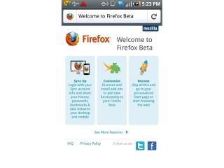 Firefox 5 in beta and on the Android Market now