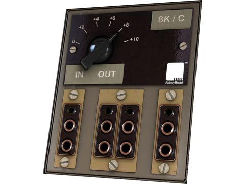 The RS315's only control is a dB adjustment knob.