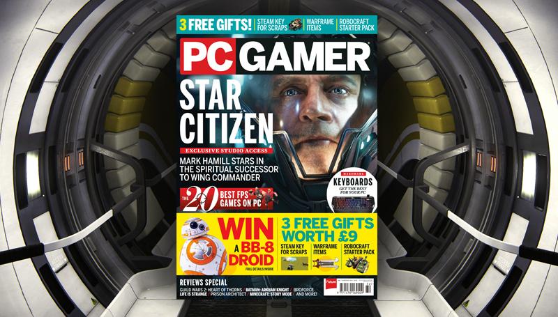 PC Gamer UK Christmas issue: Star Citizen | PC Gamer
