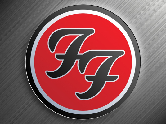35 beautiful band logo designs - Foo Fighters