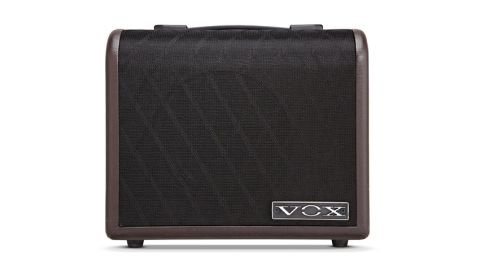 The Vox AGA30 is one of the more stylish acoustic amps we've seen